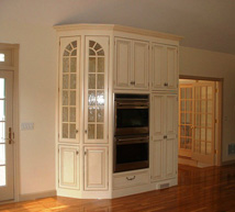 Kitchen Cabinets w/ Double Oven
